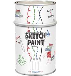 Vopsea Whiteboard Sketch Paint Transparent 1 L